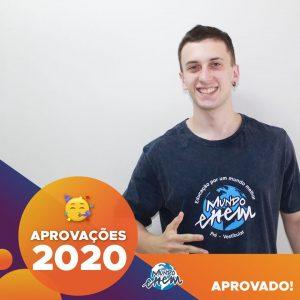 Parabéns Gustavo!🥇 Aprovado em EDUCAÇÃO FÍSICA pela Unesp.