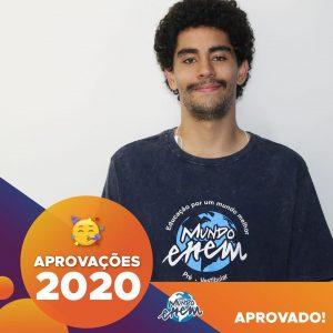 Parabéns Vinícius🥇 Aprovado em DESENVOLVIMENTO DE SISTEMAS pela FATEC.