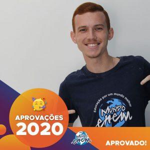 Parabéns Caio!🥇 Aprovado em ENGENHARIA CIVIL pela UTFPR.