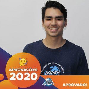 Parabéns Enrique!🥇 Aprovado em ENGENHARIA DE PRODUÇÕES pela Unesp.