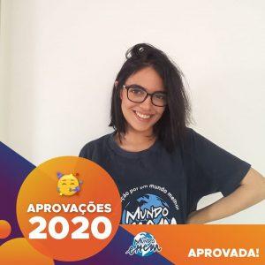 Parabéns Maria Fernanda!🥇 Aprovada em MEDICINA VETERINÁRIA pela UNESP, UENP e UNIMAX.