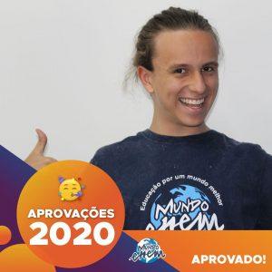 Parabéns Pedro!🥇 Aprovado em FÍSICA pela UFRGS