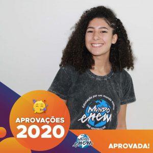Parabéns Luana 🥇 Aprovada em ODONTO pela UNISA com bolsa de 100% pelo PROUNI.