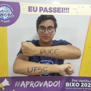 Parabéns Thiago 🥇 Aprovado em PUBLICIDADE E PROPAGANDA pela PUCC.