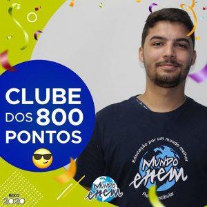 Parabéns Alef, 900 pontos na redação do ENEM📝!