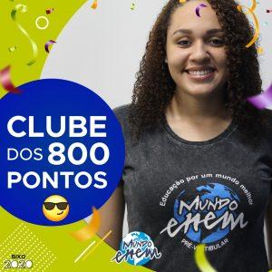 Parabéns Alessandra, 900 pontos na redação do ENEM📝!