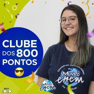 Parabéns Daniela, 880 pontos na redação do ENEM📝!