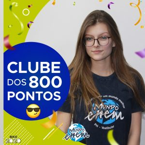 Parabéns Danielle, 880 pontos na redação do ENEM📝!