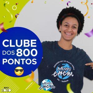 Parabéns Débora, 820 pontos na redação do ENEM📝!
