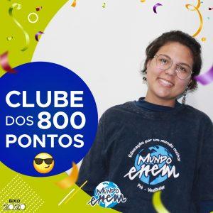 Parabéns Duda, 920 pontos na redação do ENEM📝!