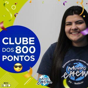 Parabéns Fernanda, 900 pontos na redação do ENEM📝!