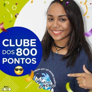 Parabéns Fernanda, 800 pontos na redação do ENEM📝!
