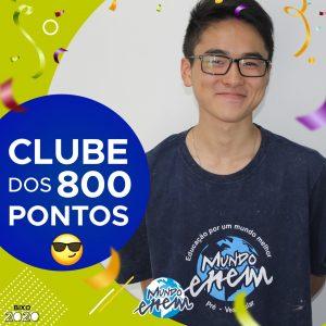 Parabéns Gabriel, 880 pontos na redação do ENEM📝!