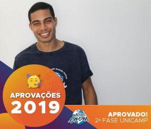 🏆Parabéns🏆 José aprovado para a 2ª fase da Unicamp.