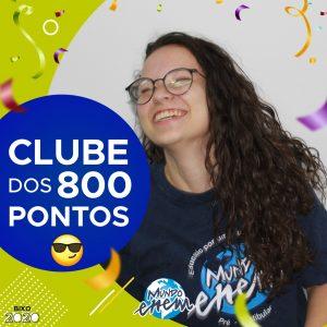 Parabéns Lenora, 860 pontos na redação do ENEM📝!