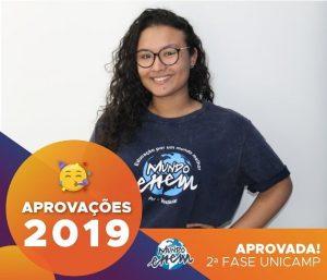 🏆Parabéns🏆 Leticia aprovada para a 2ª fase da Unicamp.