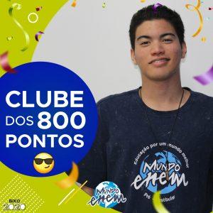 Parabéns Lucas, 900 pontos na redação do ENEM📝!