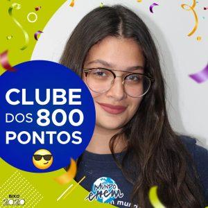 Parabéns Maria Galante, 840 pontos na redação do ENEM📝!