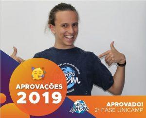 🏆Parabéns🏆 Pedro aprovado para a 2ª fase da Unicamp.