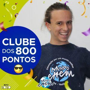 Parabéns Pedro, 860 pontos na redação do ENEM📝!