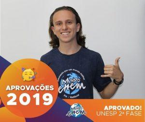 🏆Parabéns🏆 Pedro aprovado para a 2ª fase da Unesp.