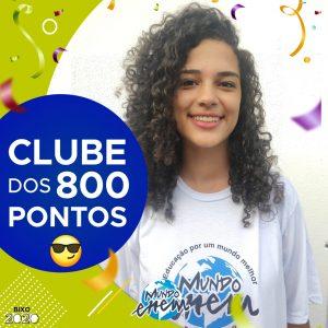 Parabéns Talita, 860 pontos na redação do ENEM📝!