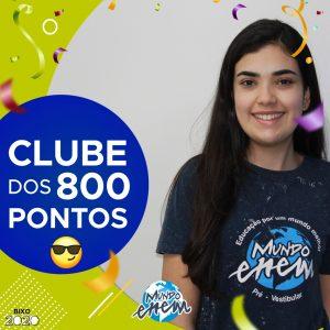 Parabéns Vitória, 840 pontos na redação do ENEM📝!