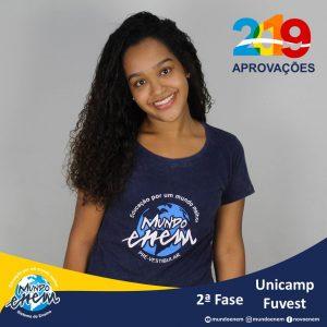 Parabéns Ana pelas aprovações para a 2ª fase da USP - Universidade de São Paulo e Unicamp - Universidade Estadual de Campinas