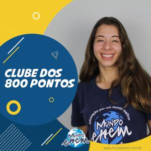 Parabéns Ana Júlia, 860 pontos na Redação do ENEM.