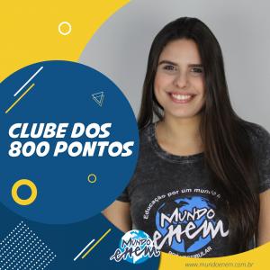 Parabéns Ana Rizzo, 840 pontos na Redação do ENEM.