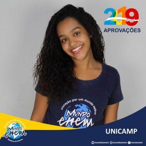 🏆 Parabéns 🏆 Ana Laura Vieira pela aprovação em Nutrição na Unicamp - Universidade Estadual de Campinas