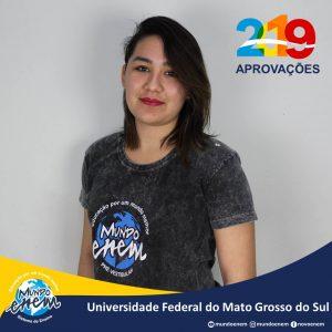 🏆 Parabéns 🏆 Carolina pela aprovação em Geografia na UFMS - Universidade Federal de Mato Grosso do Sul
