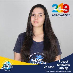 Parabéns Daniele pelas aprovações para a 2ª fase da UNESP - Universidade Estadual Paulista - Unicamp - Universidade Estadual de Campinas e USP - Universidade de São Paulo