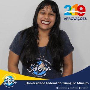 🏆 Parabéns 🏆 Deise pela aprovação em Geografia na UFTM - Universidade Federal do Triângulo Mineiro