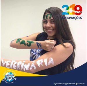 🏆 Parabéns 🏆 Giovanna pela aprovação em Medicina Veterinária na FAJ Jaguariúna