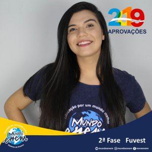 Parabéns Lara pela aprovação para a 2ª fase da USP - Universidade de São Paulo