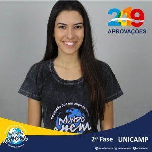 Parabéns Luana pela aprovação para a 2ª fase da Unicamp - Universidade Estadual de Campinas