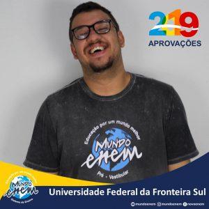 🏆 Parabéns 🏆 Luis pela aprovação em Ciências Sociais na UFFS