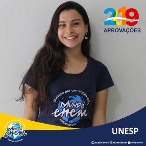 🏆 Parabéns 🏆 Monique pela aprovação em Biomedicina na UNESP - Universidade Estadual Paulista