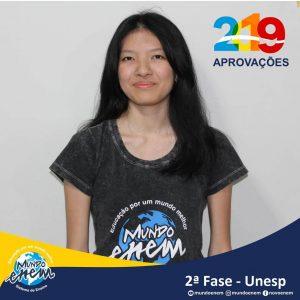 Parabéns Paula pela aprovação para a 2ª fase da UNESP - Universidade Estadual Paulista