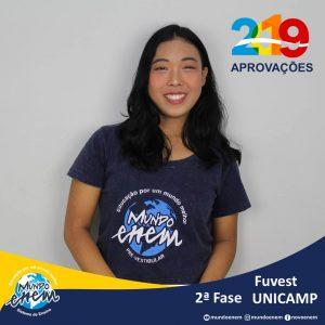 Parabéns Silvia pelas aprovações para a 2ª fase da USP - Universidade de São Paulo e Unicamp - Universidade Estadual de Campinas