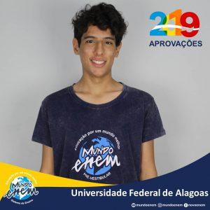 🏆 Parabéns 🏆 Victor pela aprovação em Economia na Universidade Federal de Alagoas - UFAL
