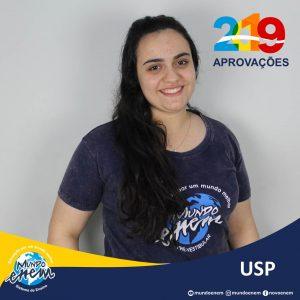 🏆 Parabéns 🏆 Vívian pela aprovação em Fonoaudiologia na USP - Universidade de São Paulo